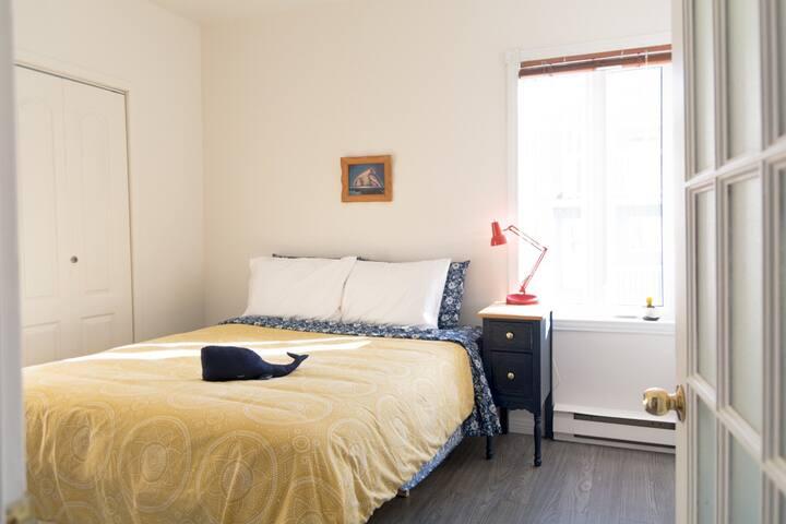 L'appartement de la Porte Rouge, pas loin du fjord