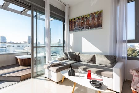 Stay healthy & relaxed @TLV Center Penthouse