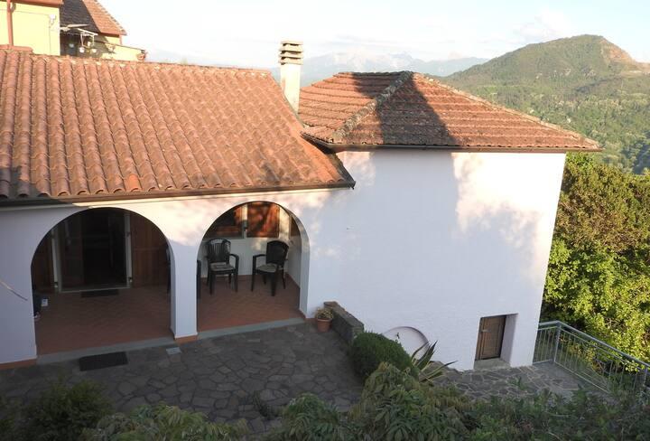 Traditional village house, Tuscany