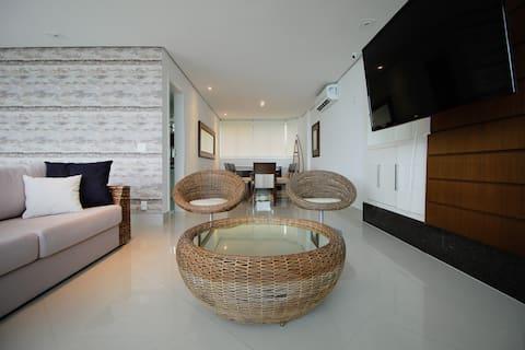 Elegant Duplex Penthouse with Private Beach