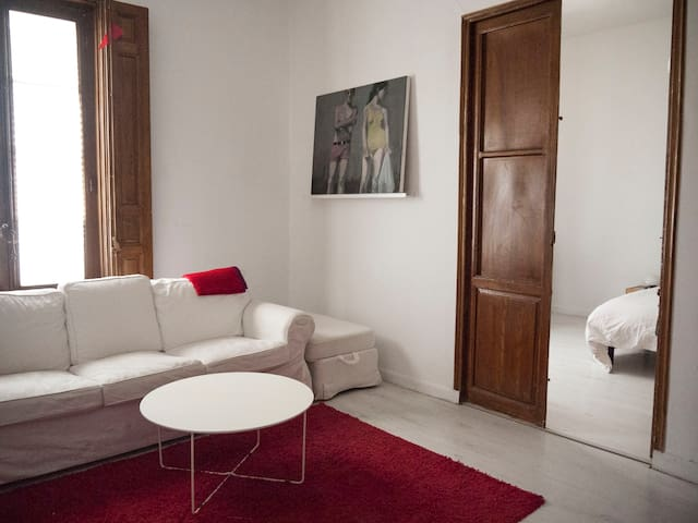 PRIVATE APT. WITHIN A SPACIOUS HOME. MADRID CENTER