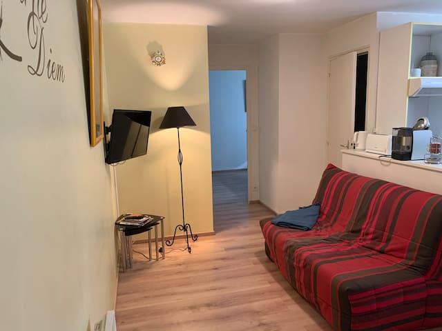 Charmant Appartement chambre séparée 1er Etage