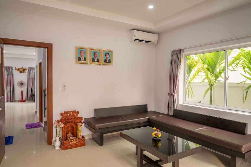 First Living Room | Aircon