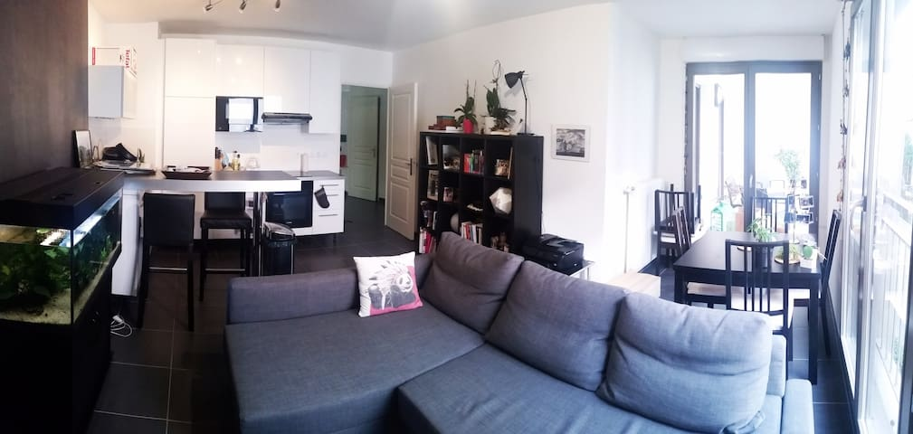 Nice flat in Massy - 10 min from train stations