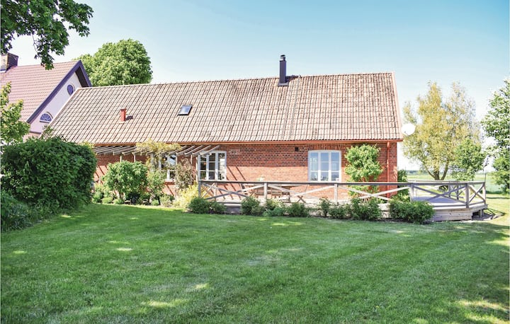 Awesome home in Gärsnäs with WiFi and 2 Bedrooms