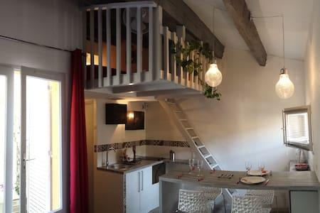 Studio Mezzanine Cap Agde Pinède