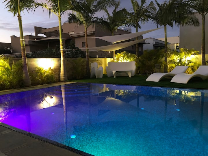 Villa luxe,heated swimming pool