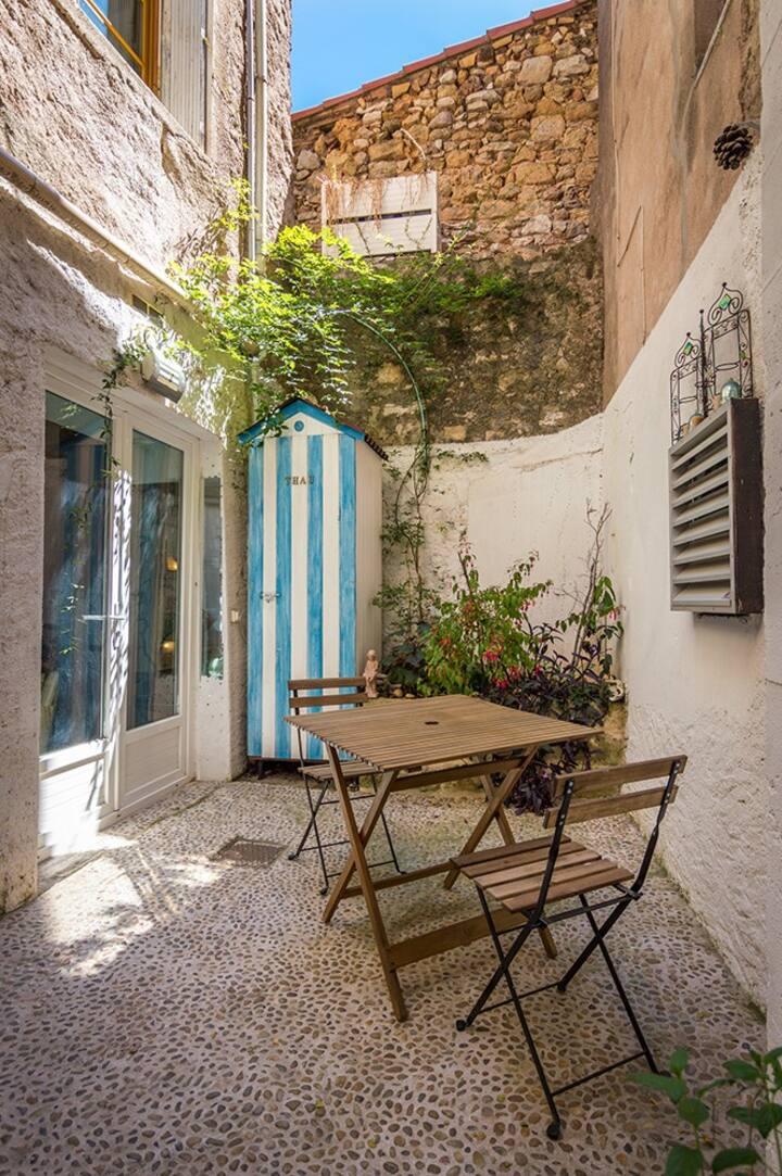 """""""Le Loft""""  appartement coquet  au coeur du village"""
