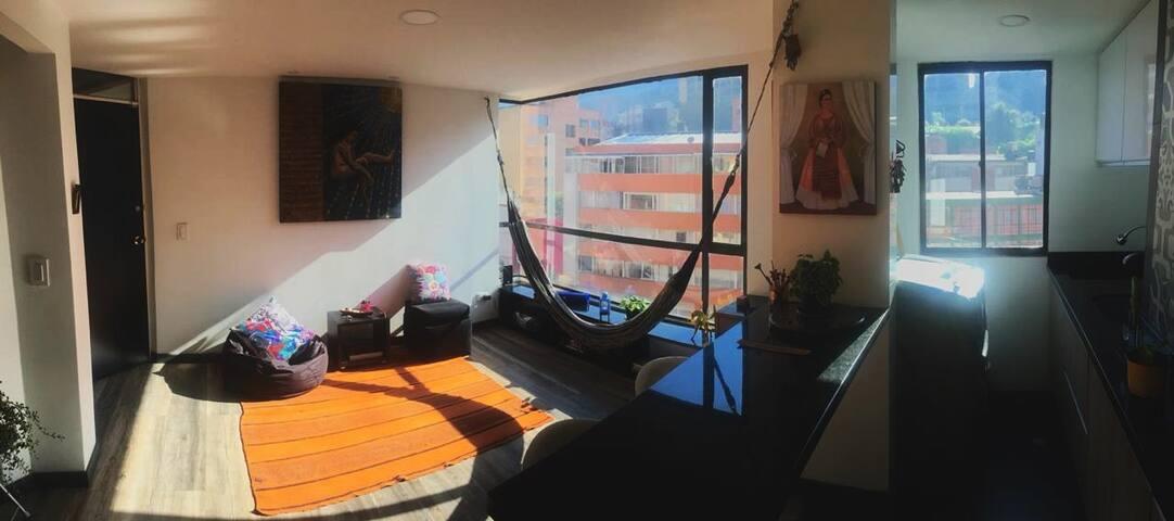 El mejor aparta estudio de Chapinero, Bogotá!