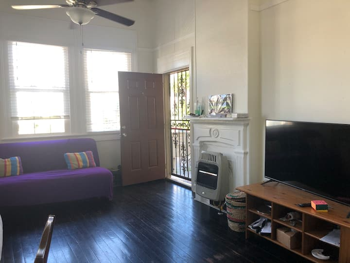 Furnished one bedroom centrally located, monthly