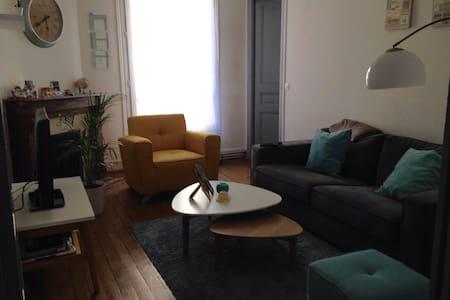 F2 Enghien les Bains (8km de Paris) - Enghien-les-Bains - Wohnung