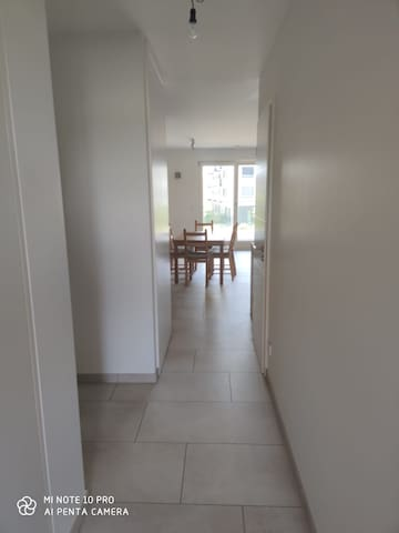 1 bedroom  - bed, private shower, toilet, balcony