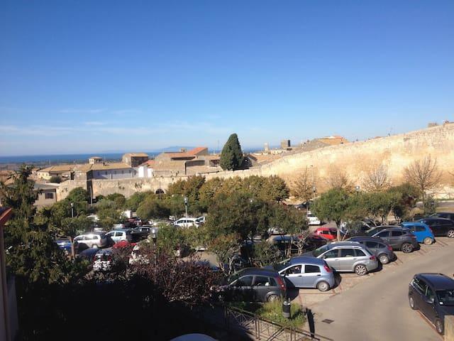 tarquinia centro vista mare - Tarquinia - Apartamento