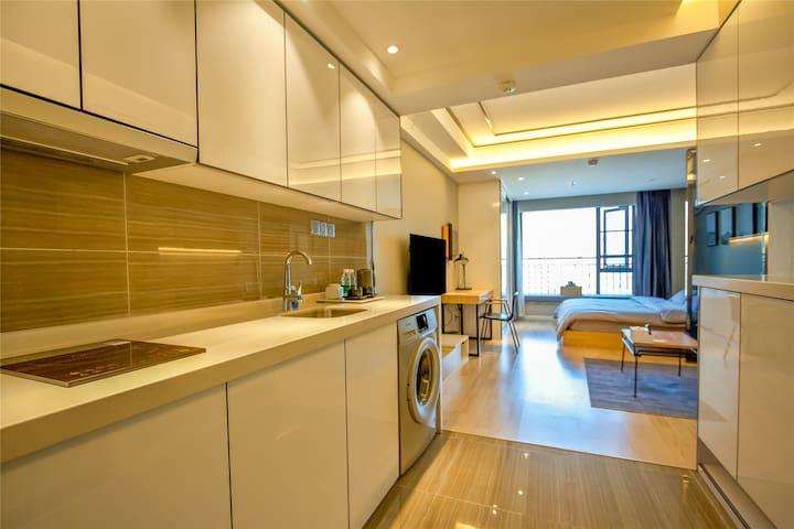 成都商遇workingliving智能公寓/LOT舒适房/智能化设施/五粮液演艺中心