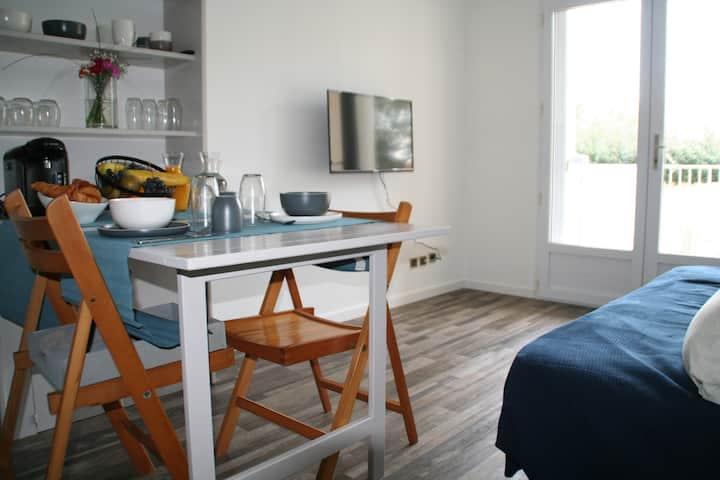 Studio avec terrasse sur la Corniche Vendéenne