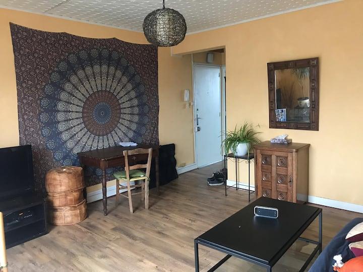 Chambre dans appartement de 58 m2