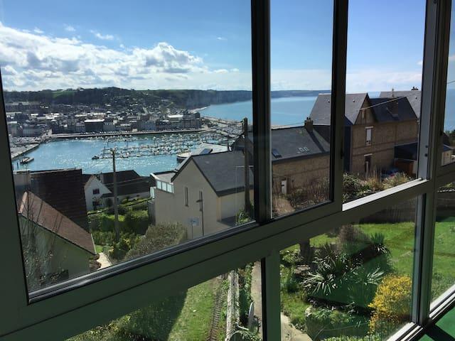 Gîte  10 pers vue mer prox Etretat - Fécamp - Casa