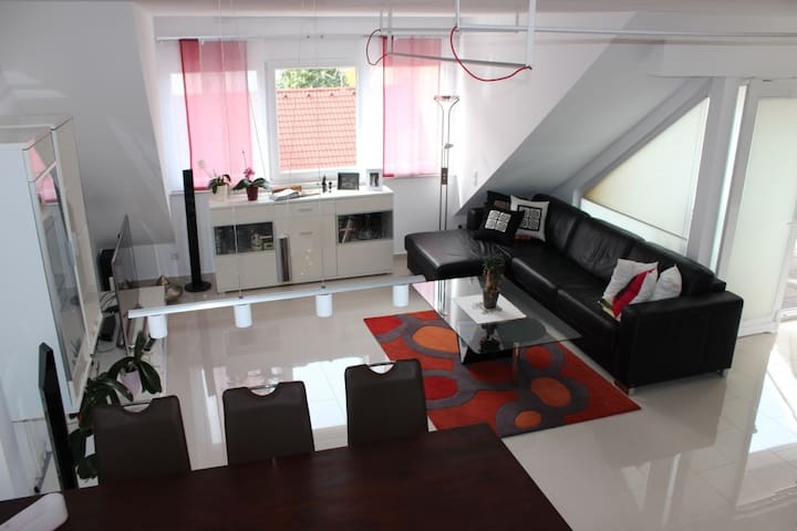 Luxury Designer Apartment (125m2) - Klagenfurt - Apartament