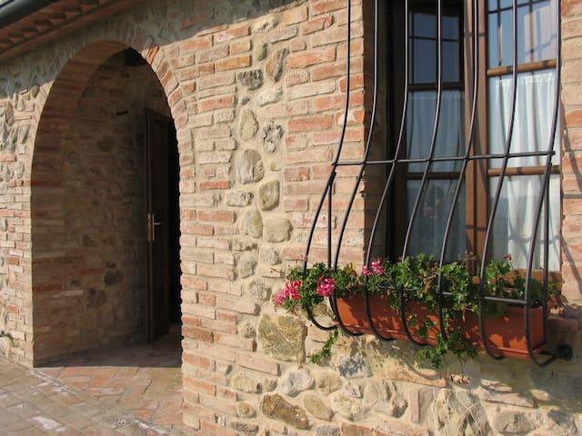 Ragoncino Farmhouse, Lajatico - two-room apartment