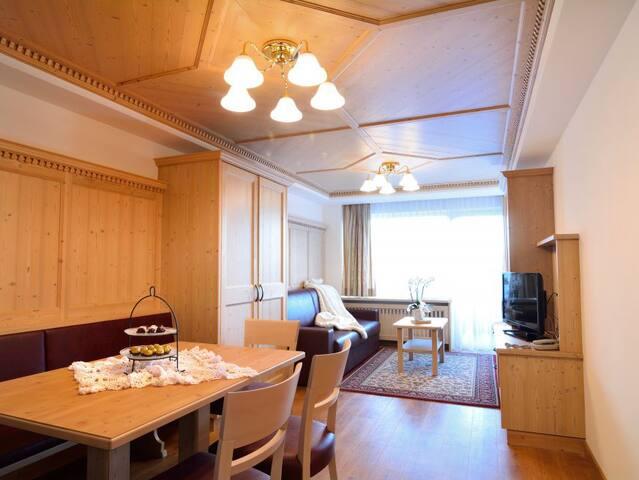 3-rooms apartment A with balcony or garden terrace - Selva di Val Gardena