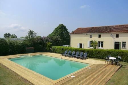 La Grande Claye, Poitou Charente/Vendee borders - Largeasse