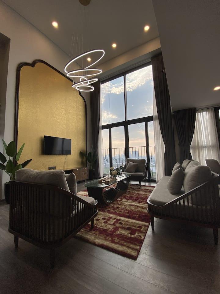 Indochina West Lake Duplex /Entire Hanoi City View