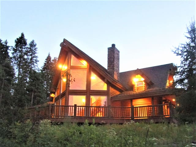 4 Bedroom, 4 Bath Mountain Log Cabin Near Tamarack