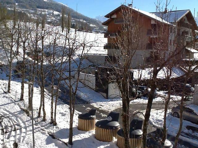 Proche du ski, Chambre 2 pers - Séez - Lägenhet