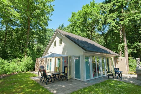 Superb villa in the woods of Gaasterland with WiFi and fireplace