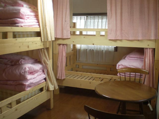 Near Mt. Aso , JR (Website hidden by Airbnb) Bed in Female Dorm