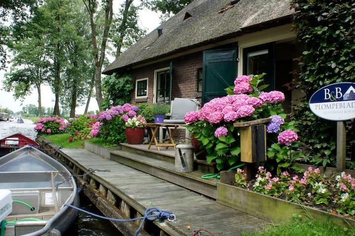 Plompeblad  Suite Giethoorn