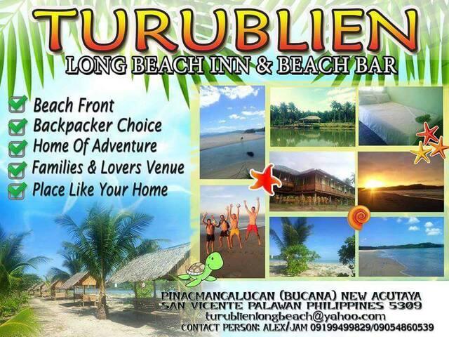 Turublien Long Beach Inn - San Vicente - 別荘
