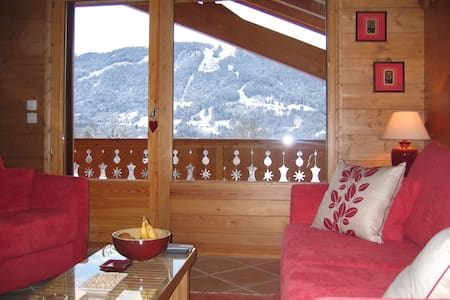 2 bed apartment with balcony in alpine chalet. - Apartment