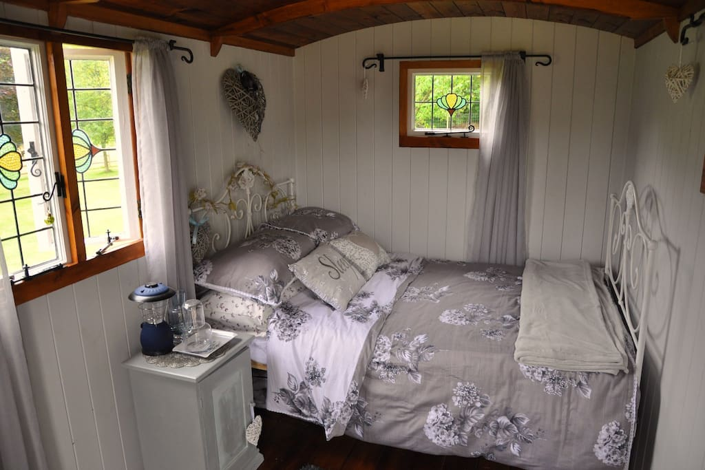 The sleeping hut