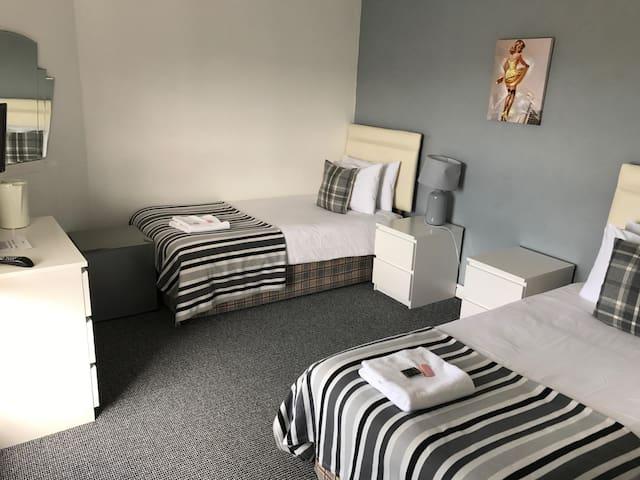 Twin room  at The B'Hive Inn