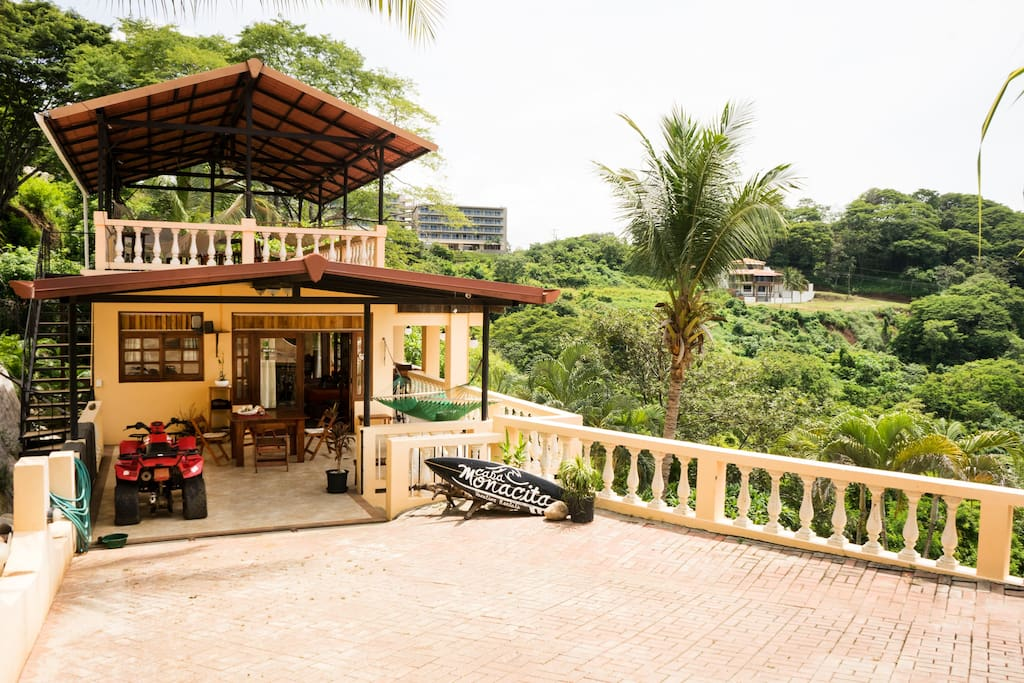 Welcome to Casa Monacita! Free parking available in our gated driveway