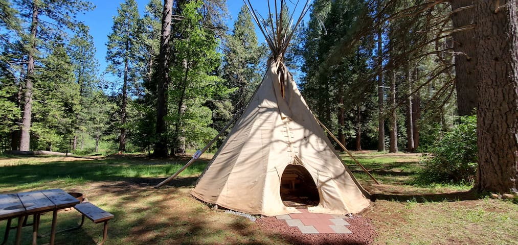 TeePee Tent at Living Springs RV & Cabins Resort