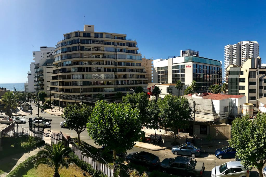 Vista del departamento