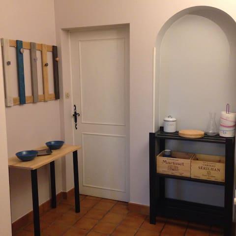 Studio indépendant - Béhasque-Lapiste - Casa