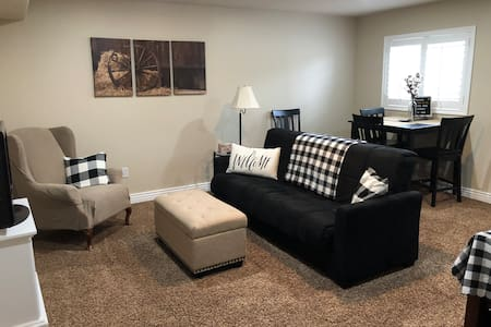 "Charming Murray ""Farmhouse"" basement apartment"