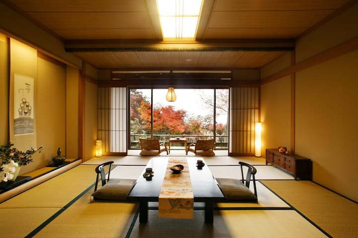 Japanese-Style Suite with Open-Air Bath & Terrace