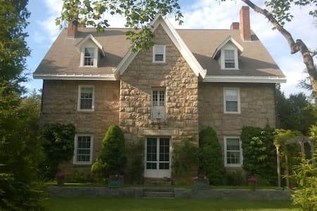 Historic Home in Narragansett RI - LR - Narragansett