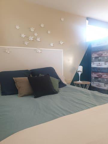 Studio indépendant chez l'habitant avec terrasse