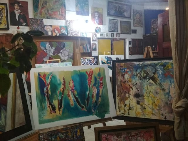 Residencia para artistas