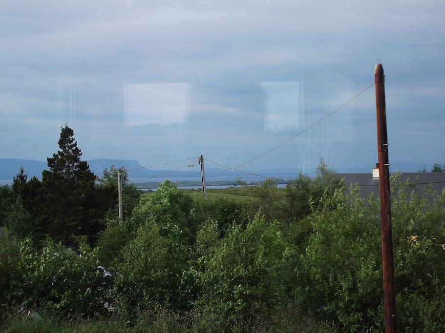 View from front window