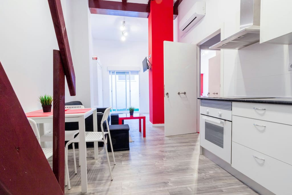 Loft next to ruzafa super cool b lofts for rent in - Loft valencia ...