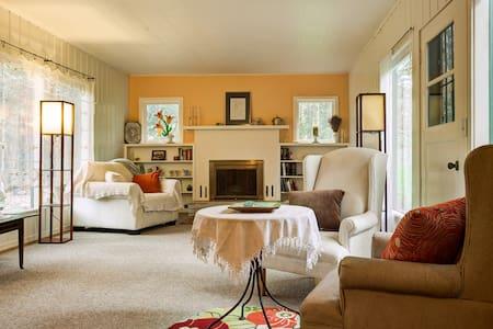 Charming woodland bungalow - Eugene - Casa