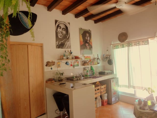 Private Room + Private Bathroom # - Sayulita - Appartement