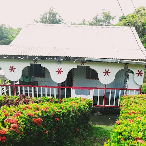 1 Bedroom Bed and Breakfast Cabin in St. Lucia