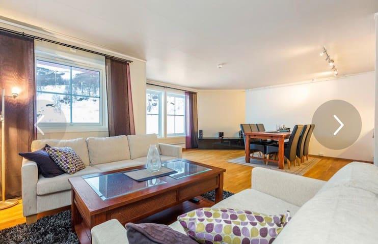 Stor leilighet med god standard på Oppdal.